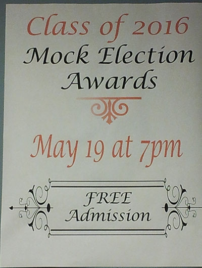 Mock elections