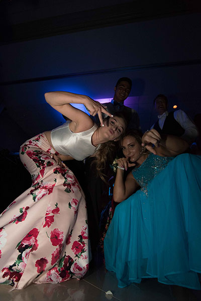 Students get down at Prom