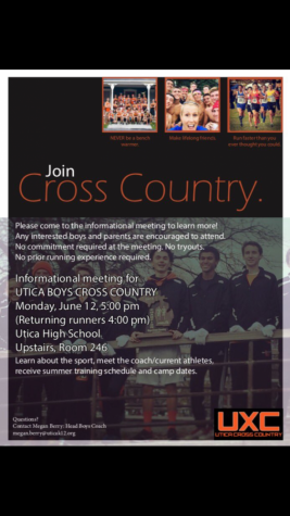 Cross Country holds meeting for interested athletes