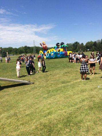 Seniors say goodbye with fun and games