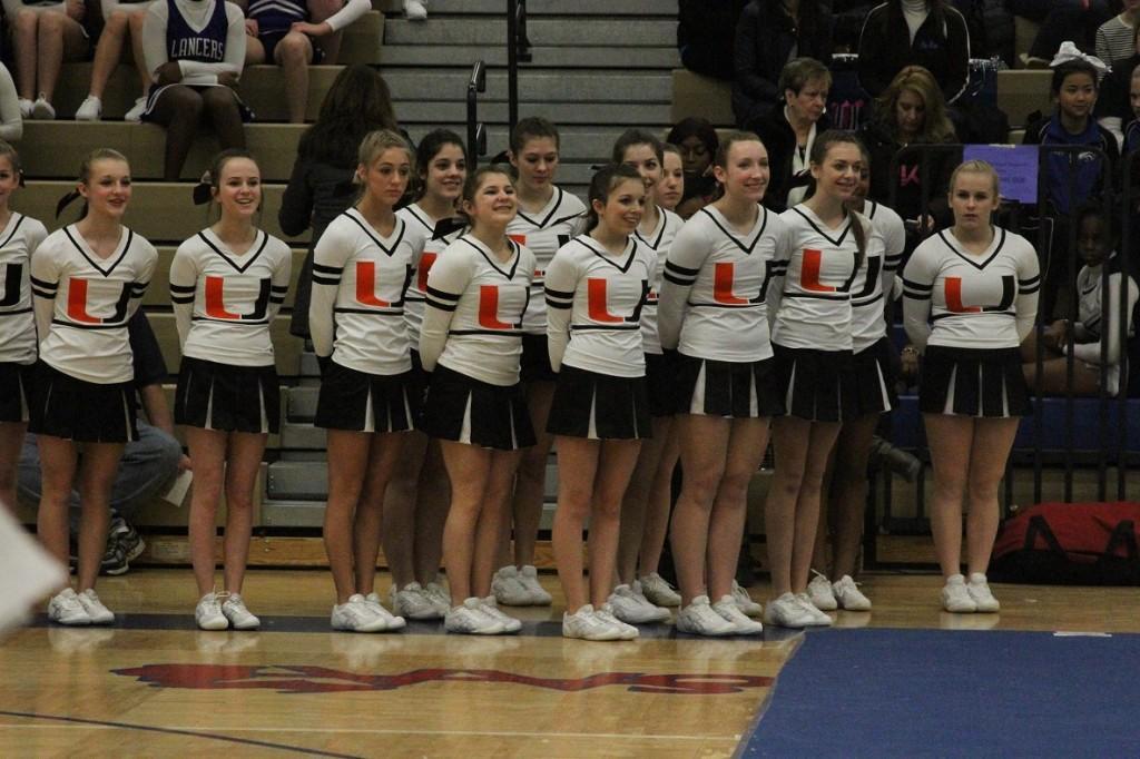 Utica High School Competitive Varsity Cheerleading