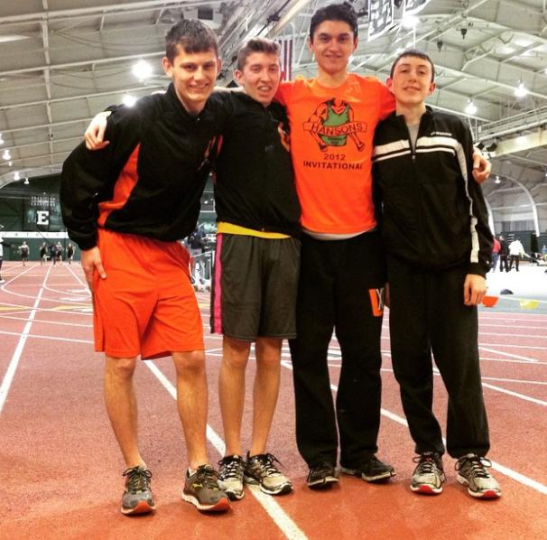 With a new personal record, Garbarino heads to indoor track championships