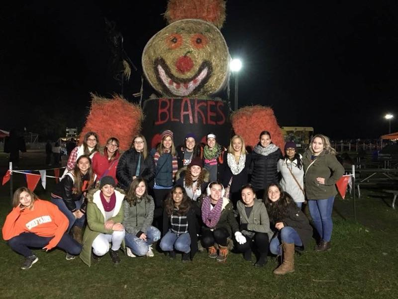 French Club travels to Blake's Orchard