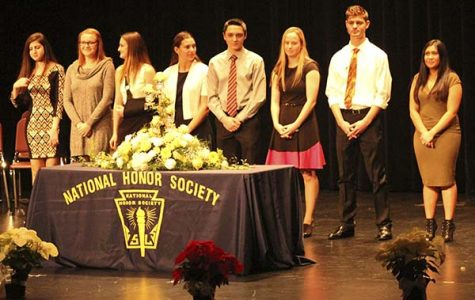 National Honor Society officially inducts its newest members