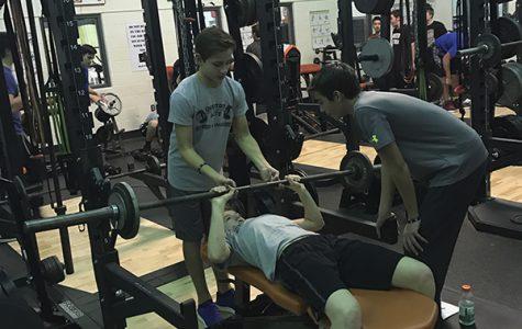 Weight room training