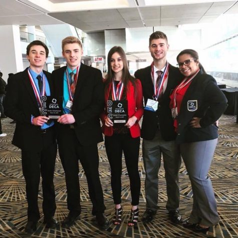 DECA competitors headed to international championships in California