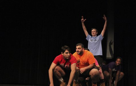 Mr. Chieftain raises money for charity