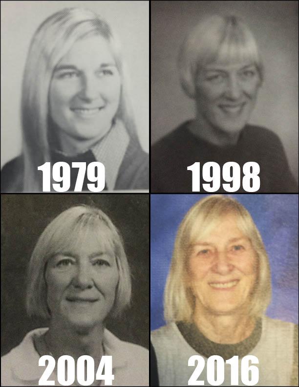 Warrior yearbook photos