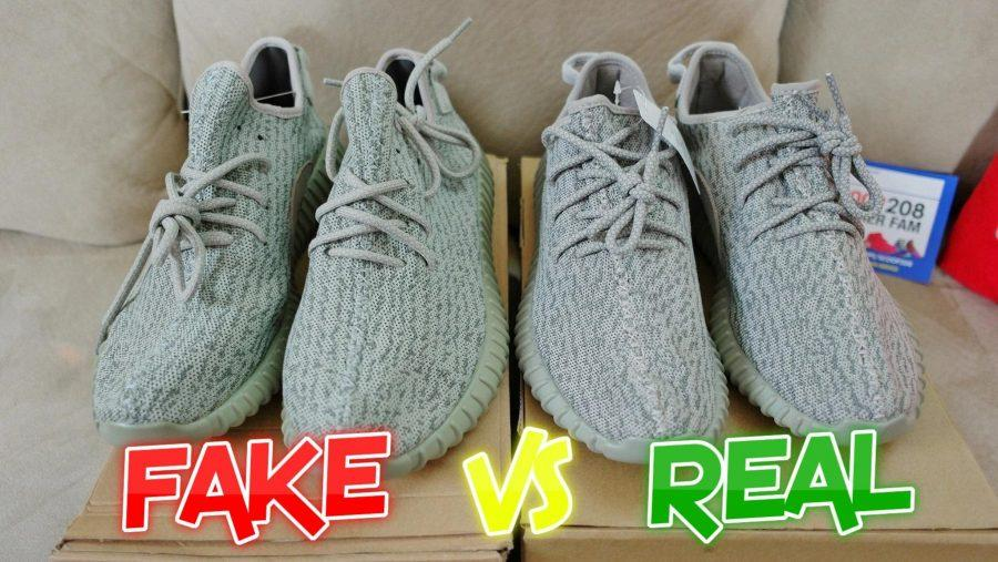new concept 6c06a b8554 Yeezys: fake or real? – Arrow