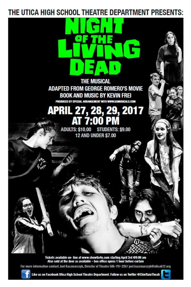 'Night of the Living Dead' hits the stage