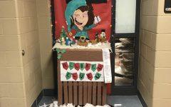 Door decorating contests brings holiday cheer