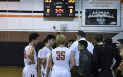 Boys basketball victorious over Eisenhower in Friday night showdown