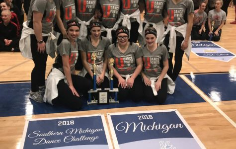 Dance competes at Southern Michigan Dance Challenge