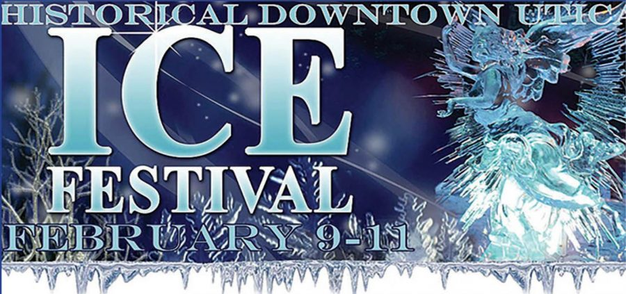 BREAKING ICE: Downtown Utica hosts ice festival