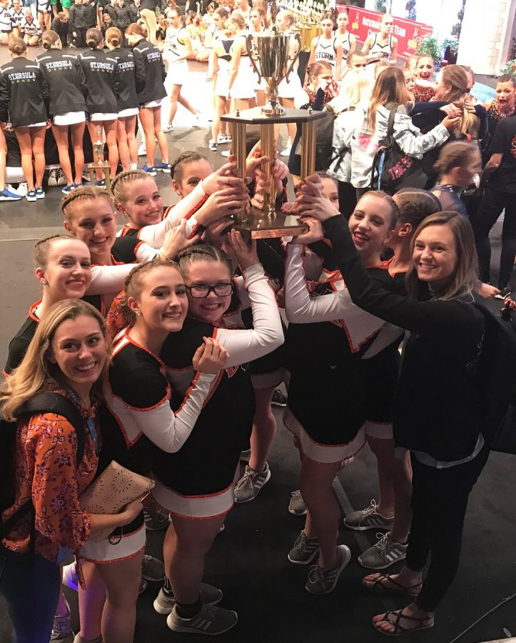 Dance team powers up at nationals