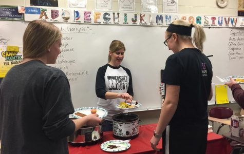 Students take on world language week