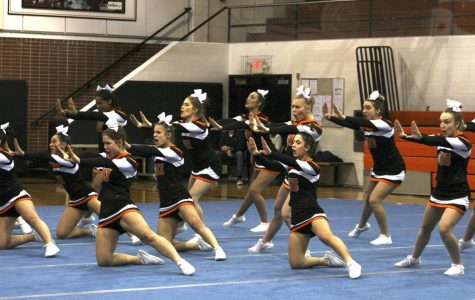 Cheer finishes season strong on and off the mats