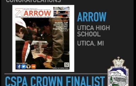 Arrow named CSPA Crown Finalist