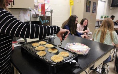 Chemistry classes celebrate mole day