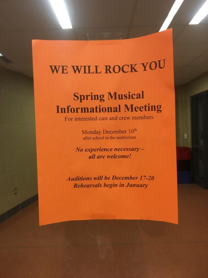 Musical informational meeting announced