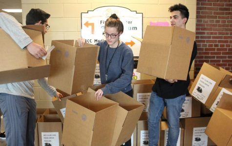 Key club's canned food drive