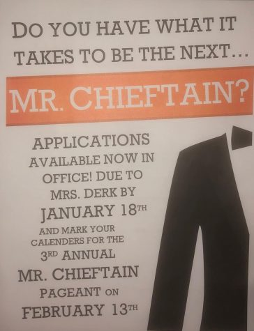 Mr. Chieftain 2019 on the clock