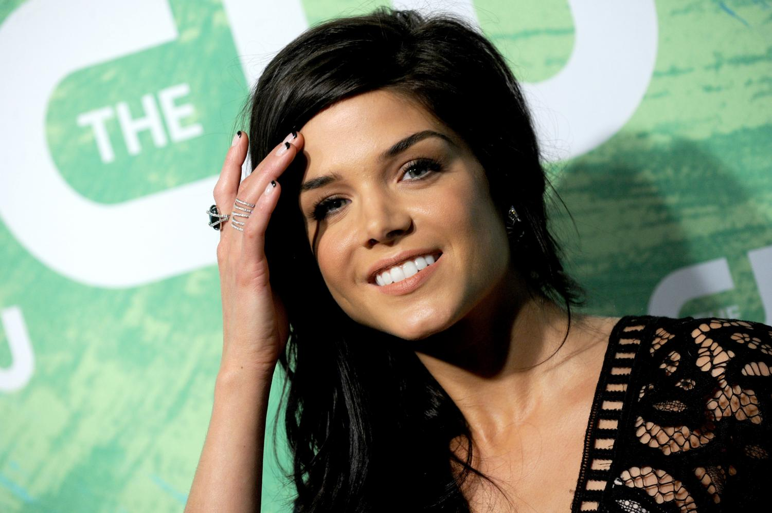 Actress Marie Avgeropoulos, who plays Octavia Blake on CW's 'The 100,' poses for a picture.