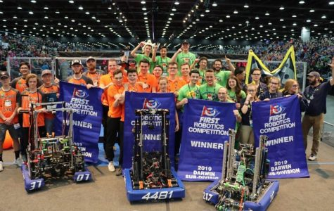 UCS robotics team wins world championship