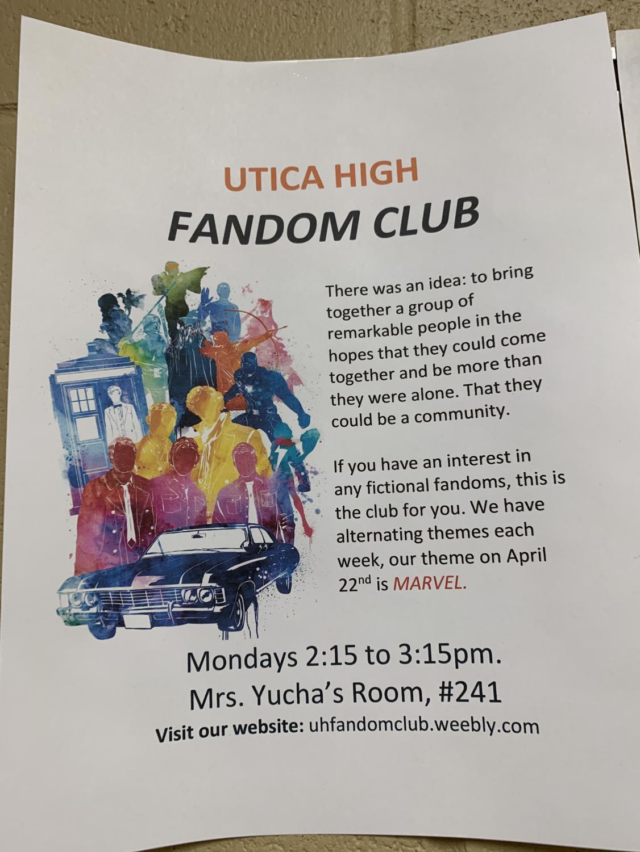Fandom Club Poster