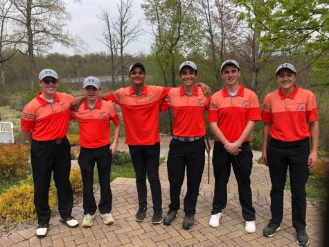 Golf swings through season, heads to regionals