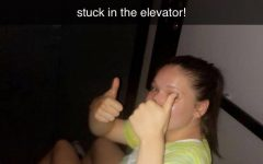 Blackout breakdown: elevator stops working with two girls inside