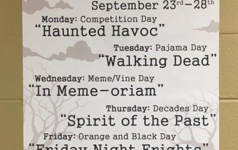 Spirit Week possesses students