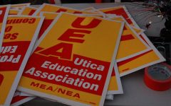 UEA organizes rally at Board of Education meeting