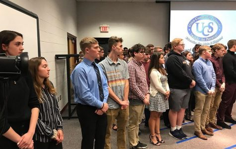 Utica students are recognized for being AP Scholars by the Board of Education.