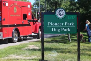 Pioneer Park is located next to Eppler Junior High in downtown Utica.