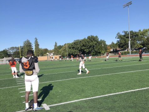 Varsity football team faces ups, downs preparing for first game